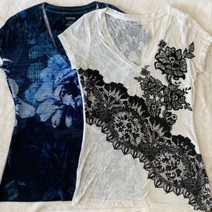 Bundle of 2 EXPRESS women's tees size small